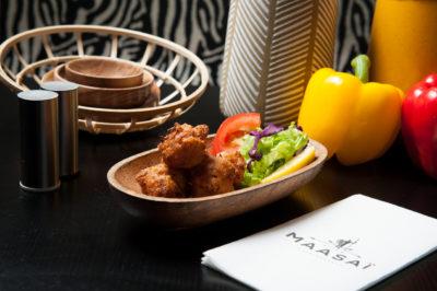 Restaurant gastronomique africain