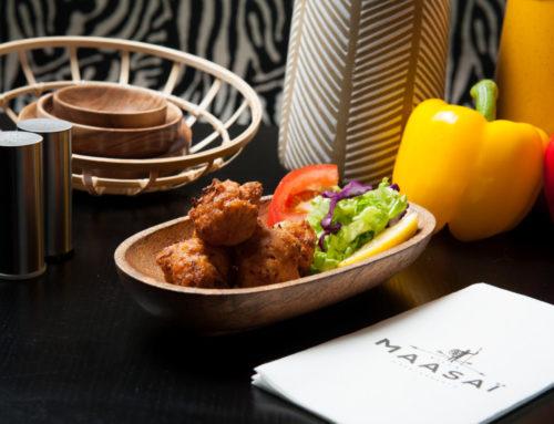 La gastronomie Africaine vue par la Villa Maasaï