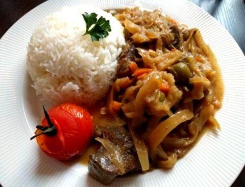 Recette du Yassa au Bœuf – Par la Villa Maasaï